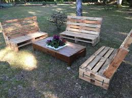 Wooden Pallet Bench Outdoor Wooden Pallet Furniture Pallet Ideas Recycled