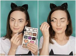 picture of halloween cats halloween easy cat makeup tutorial