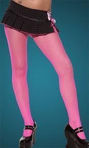 light pink fishnet tights hoisery gloves shoes stockings fancy dress wholesaler