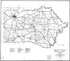 Black And White United States Map Bradley County Maps And Townships