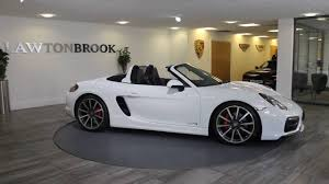 porsche boxster 2015 black porsche boxster gts white with black buckets lawton brook