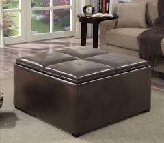 Extra Large Storage Ottoman by Furniture Choosing The Elegant Ottoman Coffee Table For Living