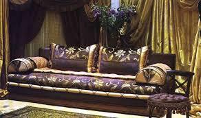 tissu pour canapé marocain canapé et fauteuil pour salon marocain design