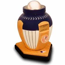 New York Yankees Home Decor Official Major League Baseball Cremation Urn For Human Ashes New