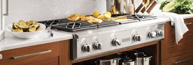 Gas Cooktop Vs Electric Cooktop Professional Gas Range Tops U0026 Electrical Cooktops Monogram