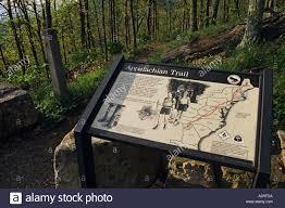 Appalachian Trail Virginia Map by Virginia Shenandoah National Park Skyline Drive Appalachian Trail