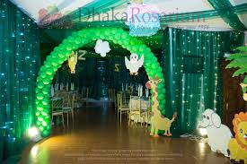 jungle theme decorations zavian party jungle theme dhaka rosarium