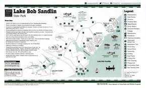 Texas State Park Map by Lake Bob Sandlin State Park The Portal To Texas History