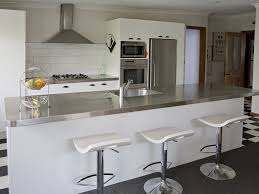 stainless steel kitchen benches home design inspirations