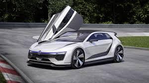 volkswagen u0027s new golf concept has gullwing doors and 395