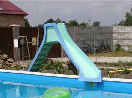 backyard pool water slides pool design ideas