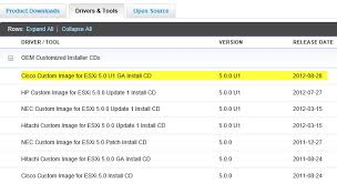install windows 10 esxi 5 5 cisco ucs esxi 5 u1 custom iso image download derek seaman s blog