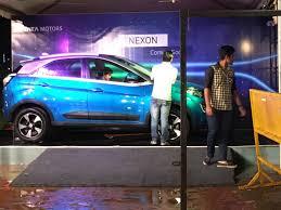 lexus used mumbai tata nexon showcased at ganpati pandal in mumbai ahead of launch