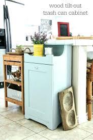 kitchen tidy ideas wooden kitchen trash can corner wooden trash can cabinet for wooden