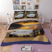 bedding sales online sports car series pattern home textiles personality quilt twin