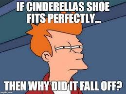If The Shoe Fits Meme - futurama fry meme imgflip