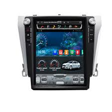 gps toyota camry inch 1280 800 touchscreen 2015 toyota camry bluetooth stereo