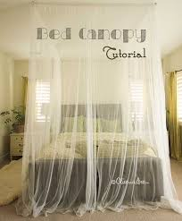 how to make canopy bed 20 magical diy bed canopy ideas will make you sleep romantic