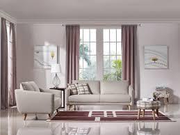 Modern Beige Sofa by Divani Casa Dakota Modern Beige Fabric Sofa Set