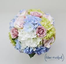 hydrangea bouquet hydrangea bouquet garden style bouquet bridal bouquet blue