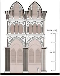 gothic cathedral floor plan rethinking teaching in the link guest blog by caroline bruzelius