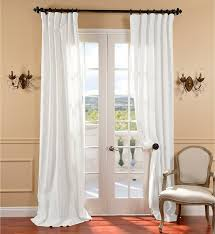 curtain belgian flax linen curtain white west elm inside white