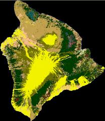Hawaii vegetaion images Vegetation zones and rainfall for the island of hawai png