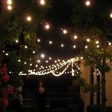 Decorative Lighting String G40 25 Tungsten Lights With Clear Light Cue Decorative Light