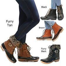 womens duck boots size 11 womens boots ebay