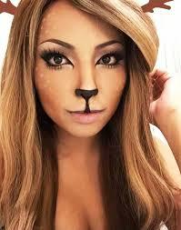 Deer Halloween Costume Women 25 Deer Halloween Makeup Ideas Women Deer Makeup Makeup