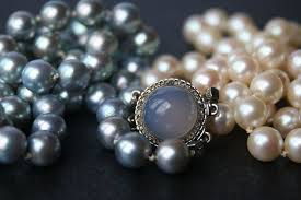 colour pearl necklace images Exclusive 2 row pearl necklace japanese sea salt water pearls jpg