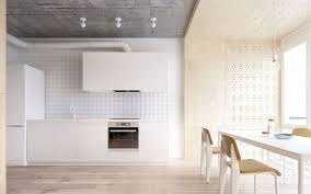 kitchen beautiful white industrial kitchen design nice subway