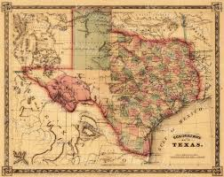wild west home decor texas map giant 1866 old texas map old west map antique