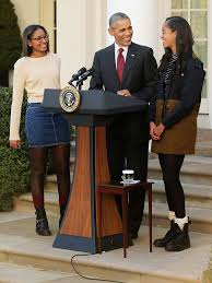 turkey pardon 2015 what malia and obama were wearing