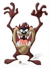 taz the tasmanian devil cardboard cutout standee standup
