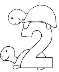free coloring pages number 2 free coloring pages printable fun number two coloring pages