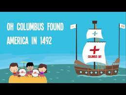 Preschool Songs For Thanksgiving Columbus Day For Kids Columbus Day Song Lyrics For Kids