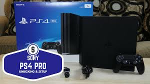 gaming setup ps4 sony ps4 pro unboxing u0026 setup bwone