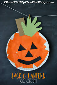 paper plate pumpkin kid craft craft activities and
