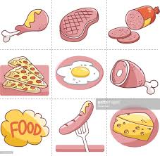 food vector food vector set vector art getty images