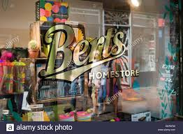 berts homestore shop window in the laines in brighton traditional