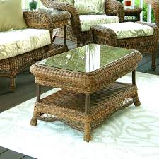 wicker end tables sale round wicker coffee table innovative round wicker ottoman coffee