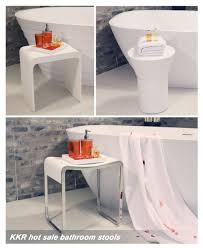 Bathroom Stools Hotel Bathroom Clear Acrylic Shower Stool Buy Acrylic Stool