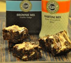 martini mint ingredients 1 box dcd truffle fudge brownie mix cup dcd white