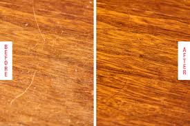 how to remove white spots of wood furniture best ways to fix scratches on wood tables kitchn