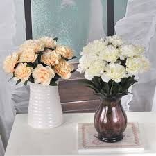 Fake Flowers Home Decor Online Get Cheap Dried Carnations Aliexpress Com Alibaba Group