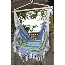 shop vivere brazilian style oasis fabric hammock chair at lowes com