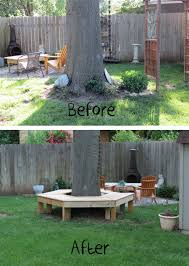 Landscaping Ideas Around Trees Pictures by Dippity Dot Bench Around A Tree Deck Ideas Pinterest Stone