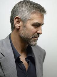 how to achieve salt pepper hair george clooney s hairstyle simple and classy