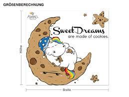 wandtattoo pummeleinhorn sweet dream geschenke geschenke für